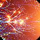 Neon Glowing Stars Tunnel - 98
