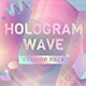 Hologram Wave Vj Loop Pack - VideoHive Item for Sale