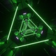 Green Neon Tunnel - VideoHive Item for Sale