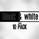 Black and White Visuals 10-Pack - VideoHive Item for Sale