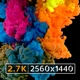 Colourful ink drop black background - VideoHive Item for Sale