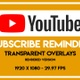 Youtuber Subscribe Reminder - VideoHive Item for Sale