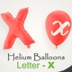 Balloons With Letter – X - VideoHive Item for Sale