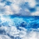 Abstract Blue and White Clouds in Daytime Sky - VideoHive Item for Sale