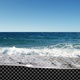 Beach Waves with Transparent Land - V2 - VideoHive Item for Sale