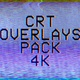 4k CRT Overlays Pack - VideoHive Item for Sale