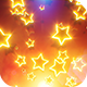 Glowing Stars Falling - VideoHive Item for Sale
