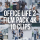 Collection of Office Life During the Working Day - Pack of 10 Clips - VideoHive Item for Sale