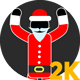 Stick Figure Santa Claus  - VideoHive Item for Sale
