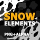 Winter Snow Elements - VideoHive Item for Sale