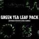 Green Tea Leaf Pack (8 videos) - VideoHive Item for Sale