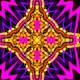 Neon Kaleidoscope Background Looped Pack - 15