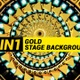 Gold Stage Background 3 In 1 - VideoHive Item for Sale