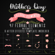 Mothers Day Floral Elements - VideoHive Item for Sale