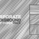 Corporate Background Wavy Cubes Pack - VideoHive Item for Sale