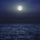 Moon Over the Sea - VideoHive Item for Sale