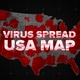 Virus Spread in the USA - VideoHive Item for Sale