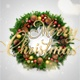 Merry Christmas Text Animation (Mistletoe Wreath) - VideoHive Item for Sale