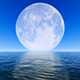 Moon on Horizon - VideoHive Item for Sale