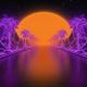 Neon Palms Loop - VideoHive Item for Sale