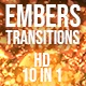 Ember Transitions - VideoHive Item for Sale