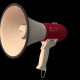 Red Megaphone - VideoHive Item for Sale
