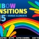 2D Rainbow Transitions  - VideoHive Item for Sale