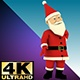 Christmas Santa Light Dance - VideoHive Item for Sale