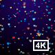 Colorful Hearts Falling 4K - VideoHive Item for Sale