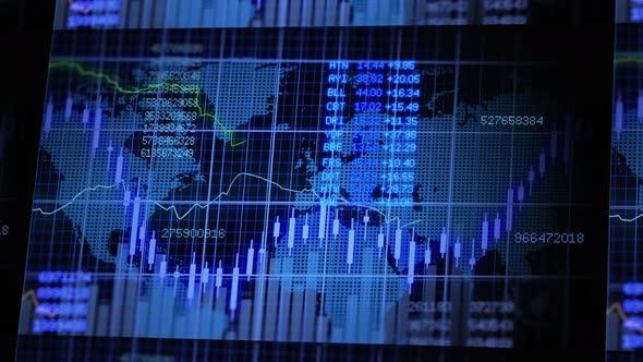 Stock Market Exchange Data Investment Infographic