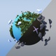 Polluted 3d world - VideoHive Item for Sale