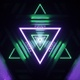 Abstract Triangle Tunnel Vj - VideoHive Item for Sale