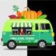 Van Organic Food - VideoHive Item for Sale