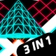 Pyramid Vj Pack 3 in 1 - VideoHive Item for Sale