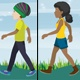 Boy & Girl Walk - VideoHive Item for Sale