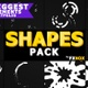Hand Drawn Dynamic Shapes | Motion Graphics Pack - VideoHive Item for Sale