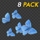 Butterfly Transition - Blue Adonis - Pack of 8 - VideoHive Item for Sale