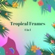 Tropical Frames - 4 In 1 - VideoHive Item for Sale