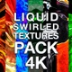 Liquid Swirled Textures Pack 4K - VideoHive Item for Sale