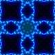 Vj Neon Lights Wave Kaleidoscope Loop 4K 06 - VideoHive Item for Sale
