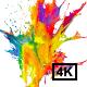Multicolor Explosion 4K
