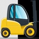 Forklift Cartoon - VideoHive Item for Sale