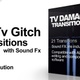 Tv Damage Transitions - VideoHive Item for Sale