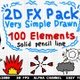 2D FX Pack Is Very Simple Drawn - VideoHive Item for Sale