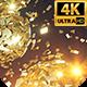 Gold Splinters Backdrop 4k - VideoHive Item for Sale