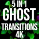 Ghost Halloween Transitions - VideoHive Item for Sale