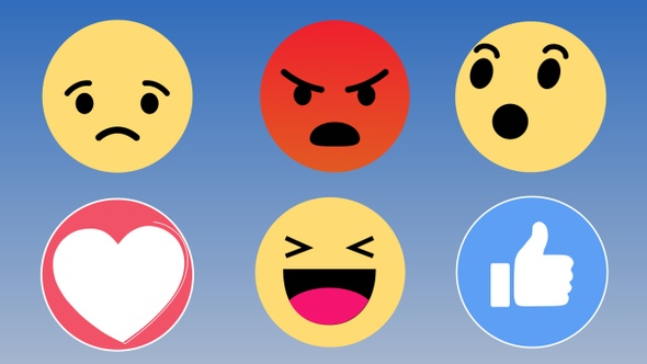 Facebook Emoticons Reactions Pack 4k By Nicartoon Videohive
