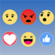 Facebook Emoticons Reactions Pack 4K - VideoHive Item for Sale