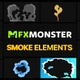 Cartoon Smoke | Motion Graphics - VideoHive Item for Sale