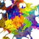 Multicolor Paint Crown Splash Explosion 4K - VideoHive Item for Sale